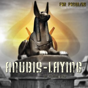 Anubis Laying [Exclusive]