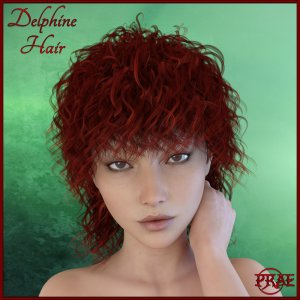 Delphine Hair for G3F/G3M Exclusive