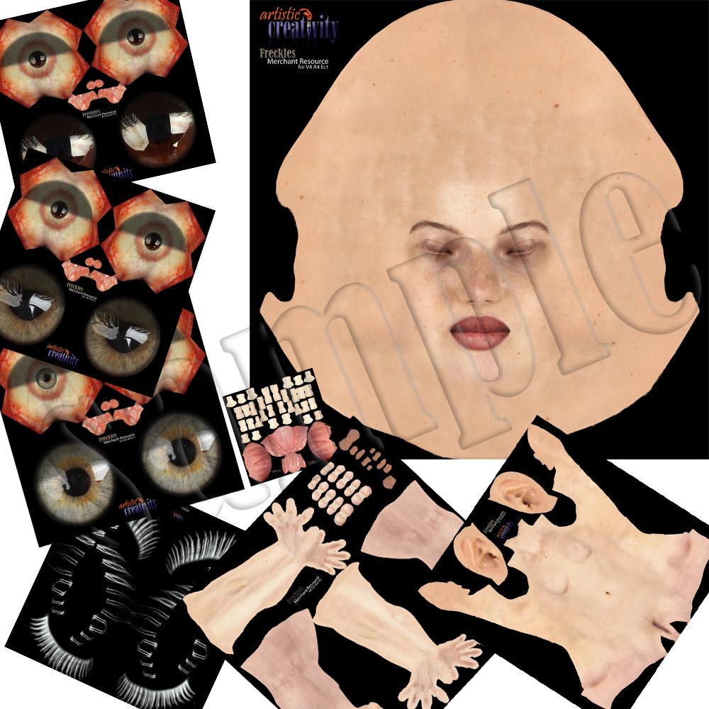 Freckles MR V4A4SheFreak4 Exclusive