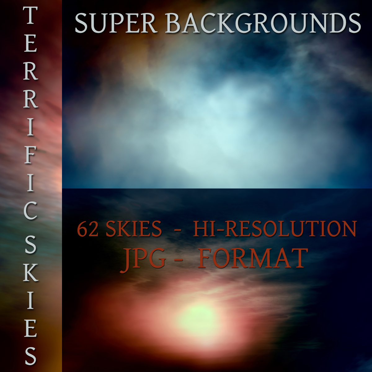 Super Backgrounds - Terrific Skies