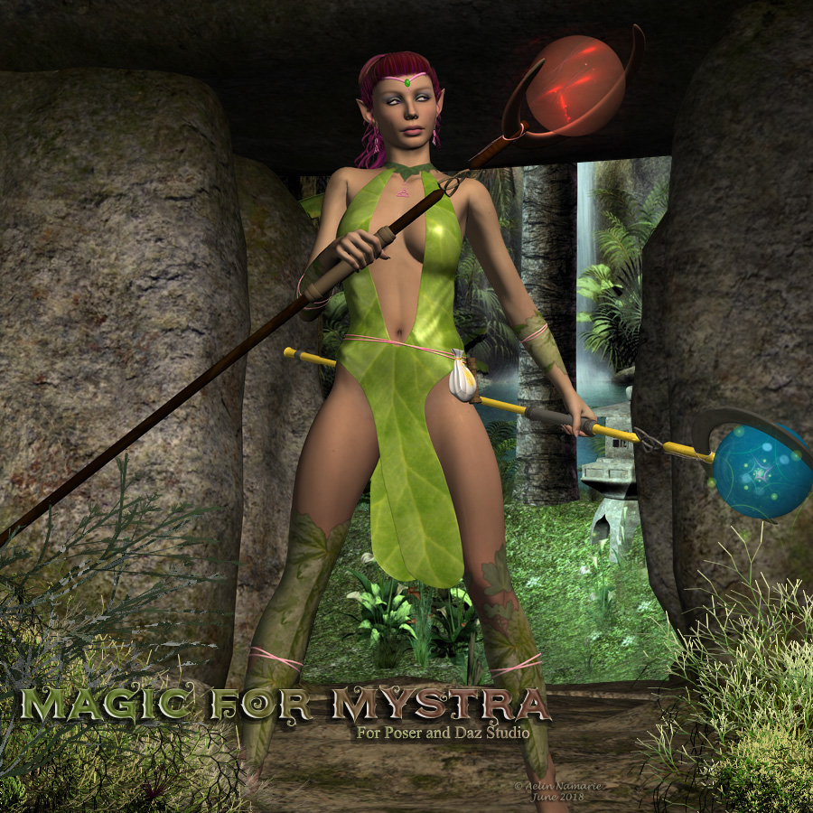 Magic for Mystra Outfit