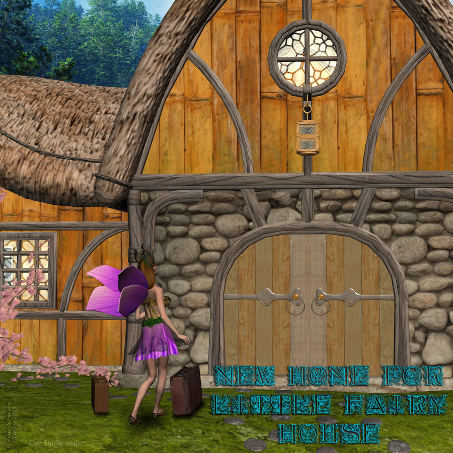 New Home for Little Fairy House - Exclusive