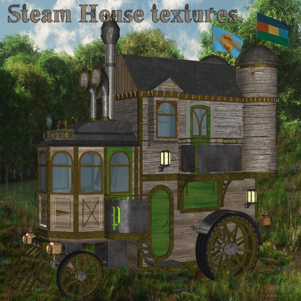 Steam House Textures
