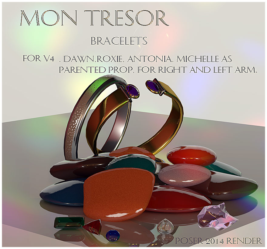 Mon Tressor Bracelets