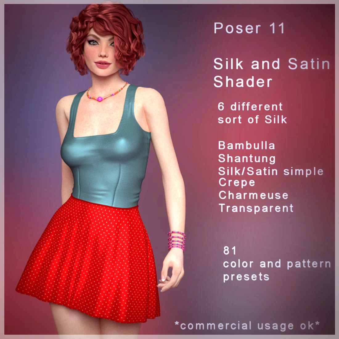 Silk & Satin Poser Shaders [Exclusive]