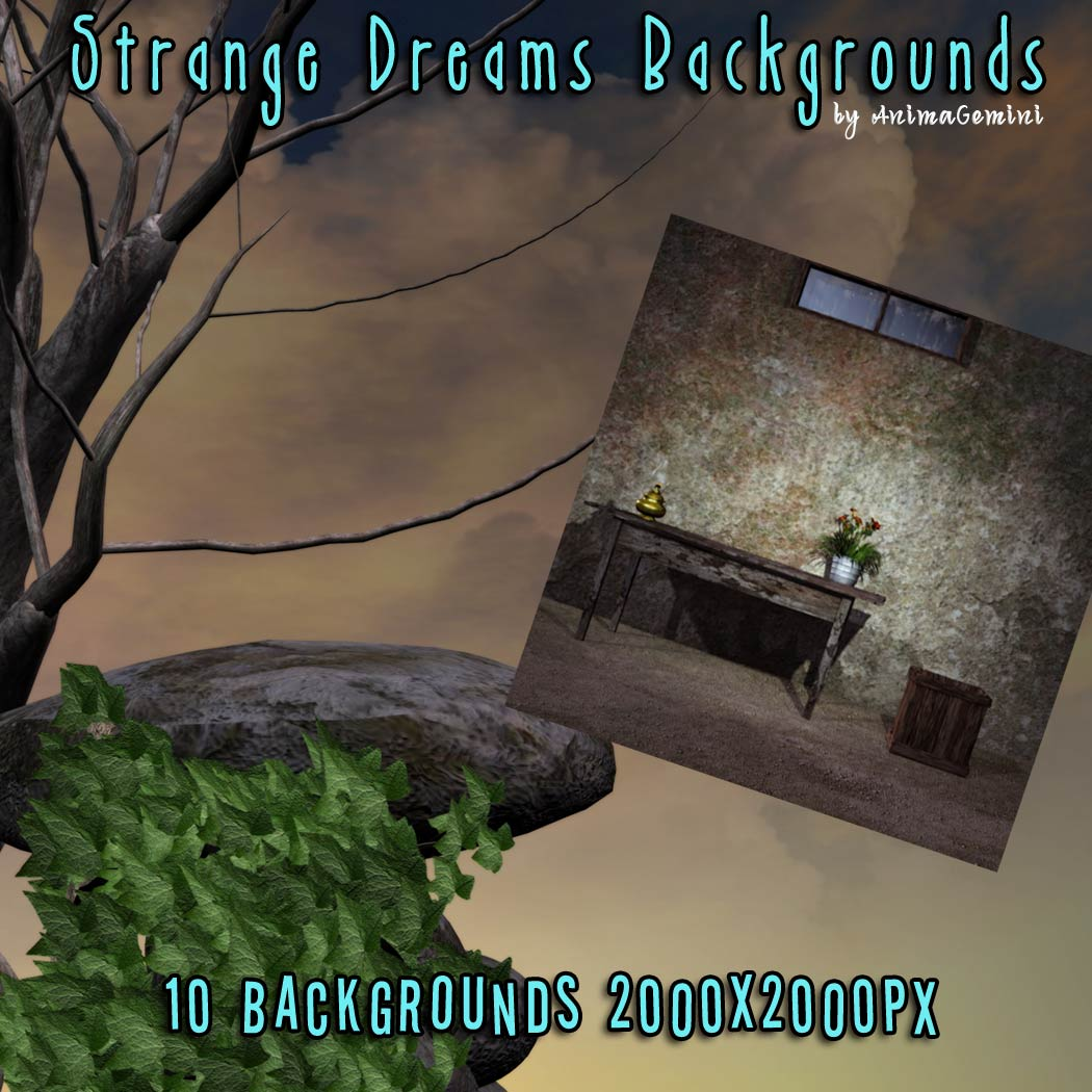 Strange Dreams Backgrounds (Exclusive)