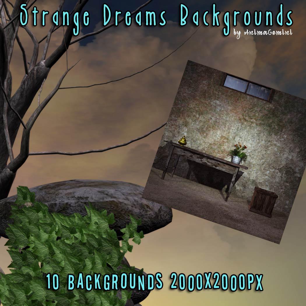 Strange Dreams Backgrounds