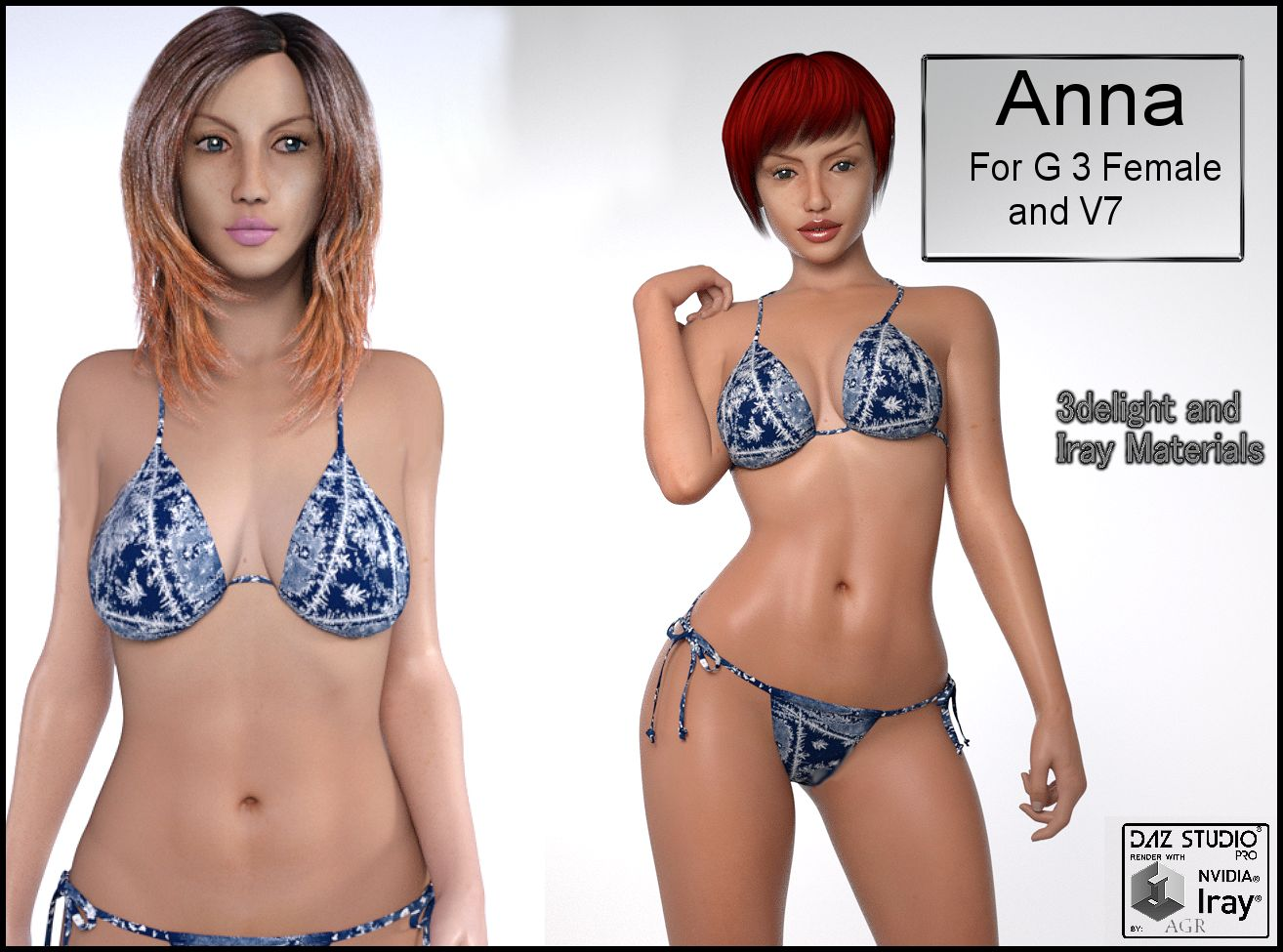 Anna for G3F and V7