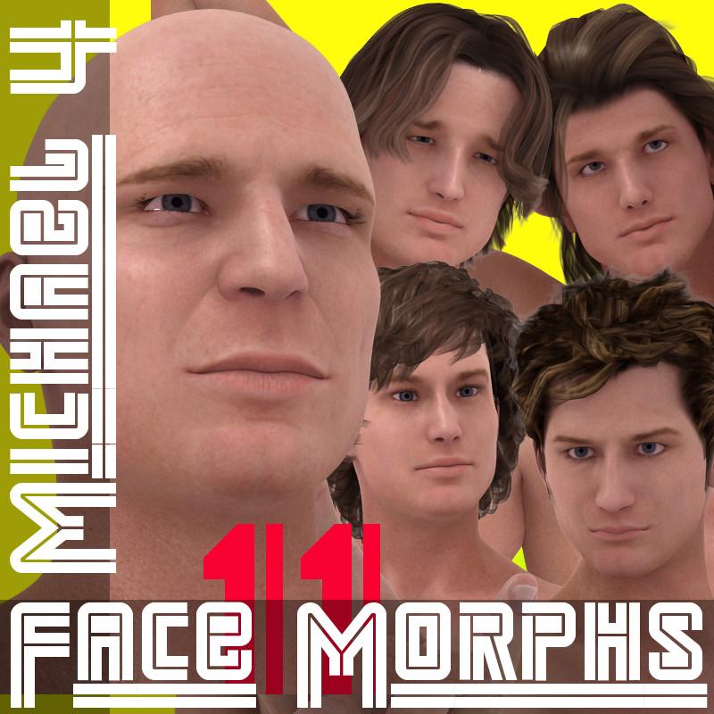 M4 Faces and Poses Bundle Vol. 11