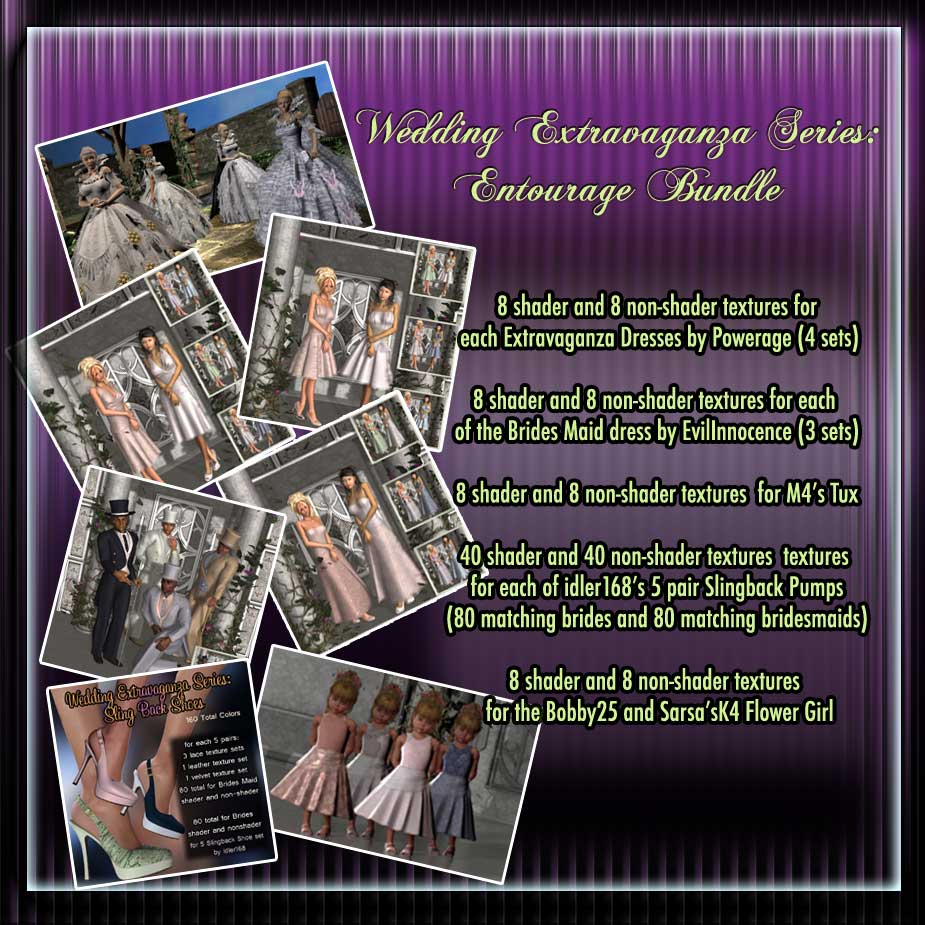 Entrourage Bridal Bundle