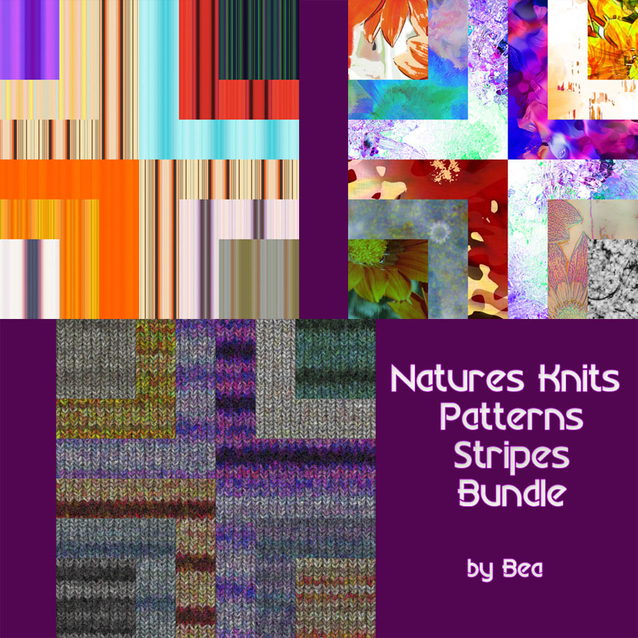 Natures Knit-Stripe-Stripes Bundle EXCLUSIVE
