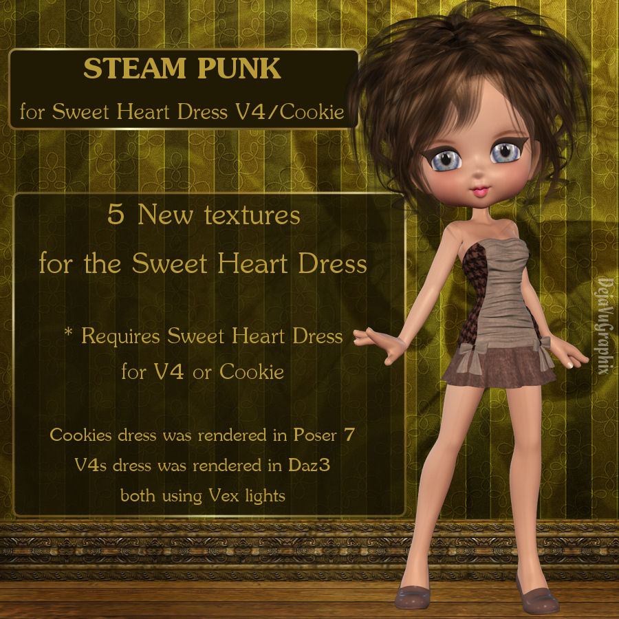 Steam Punk for Sweet Heart Dress *Exclusive*