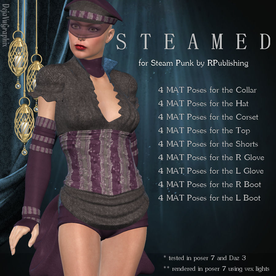 Steamed for SteamPunk *Exclusive*