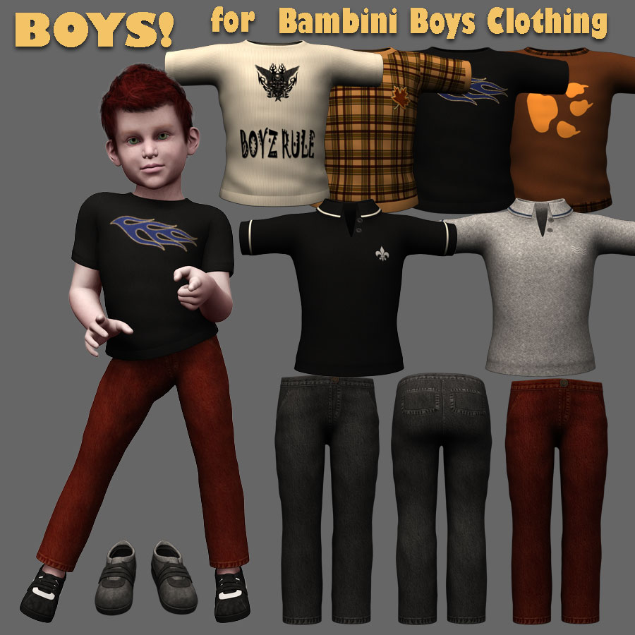 Bambini Boy Textures *Exclusive*