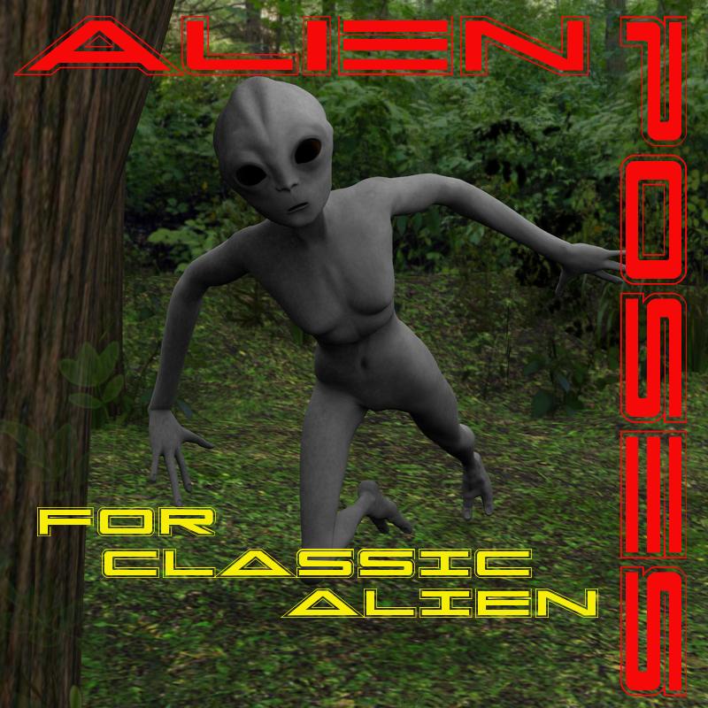 Alien Poses for Classic Alien