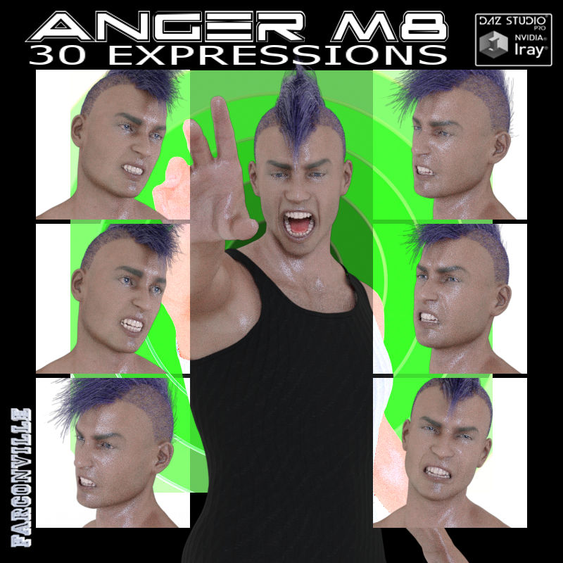 GM8/M8 Anger Expressions