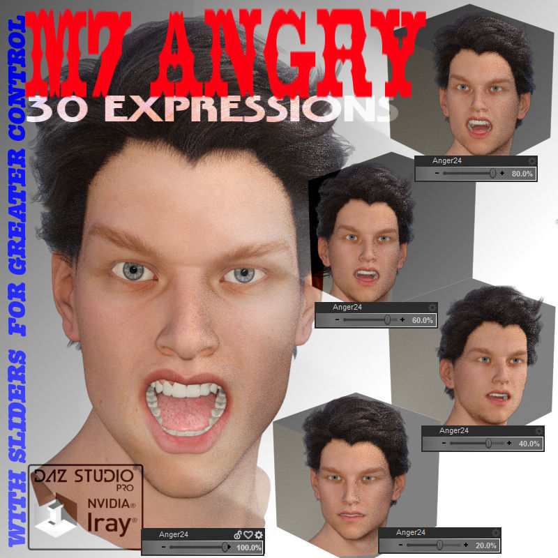 G3M/M7 Angry Expressions