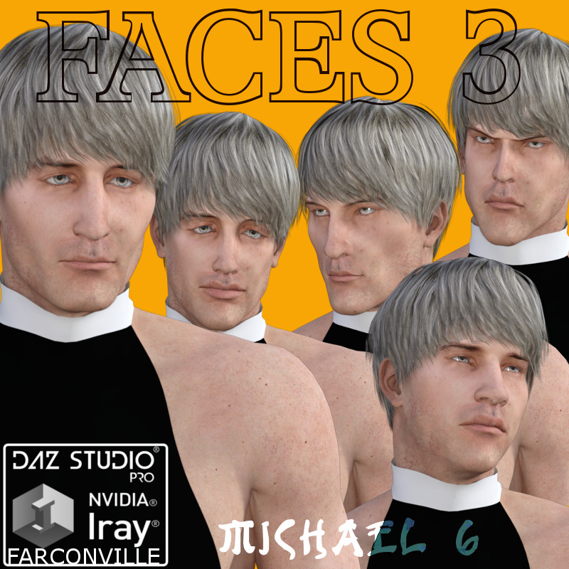 Faces for M6 Vol. 3