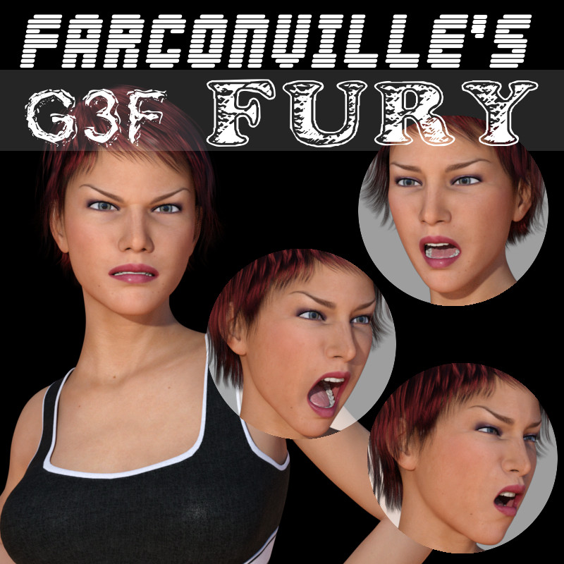 G3 Female Fury Expressions