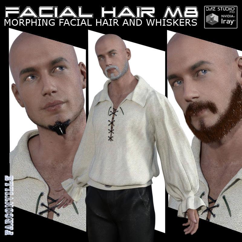 GM8-M8 Facial Hair