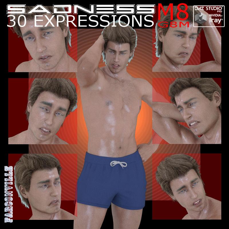 GM8/M8 Sadness Expressions