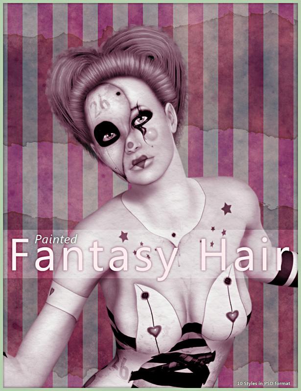 Painted Fantasy Hair