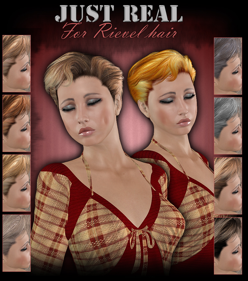 Just Real for Rievel Hair (ForbiddenWhispers)