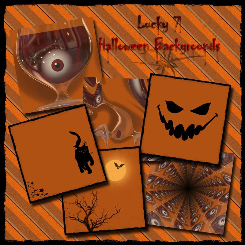 Lucky 7 Halloween Backs