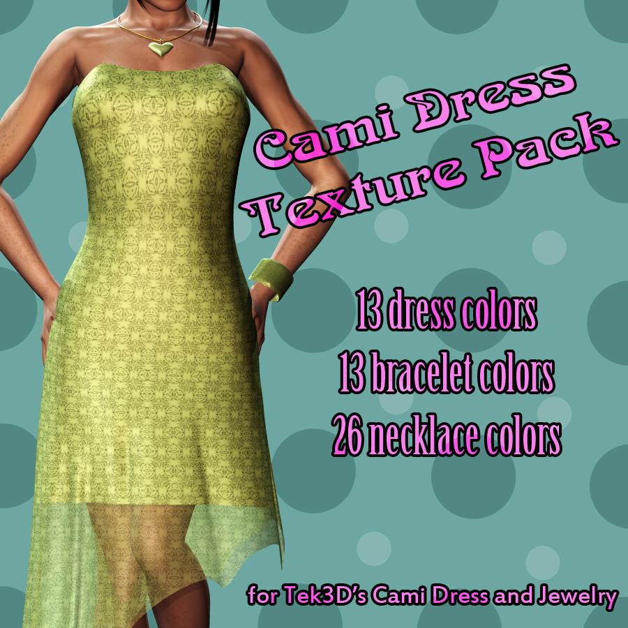 Cami Dress Textures V4 *Exc*