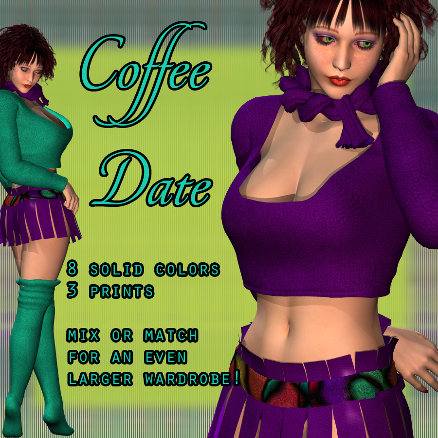 Coffee Date Textures V4 *Exc*