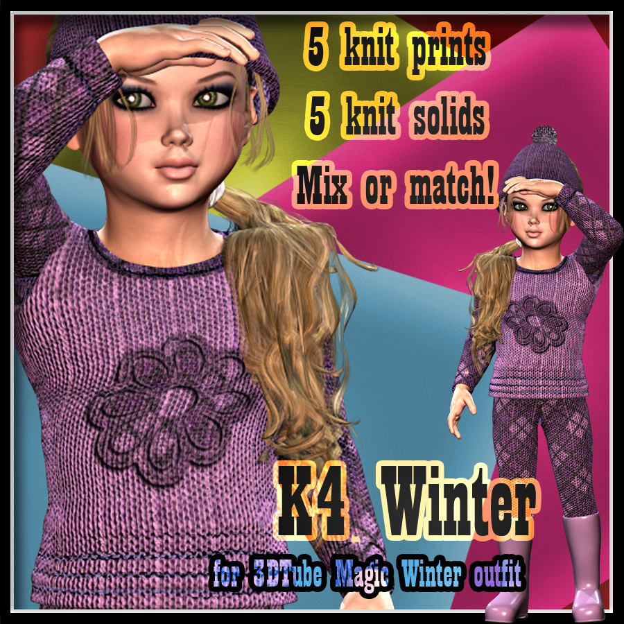 K4 Winter Outfit Textures