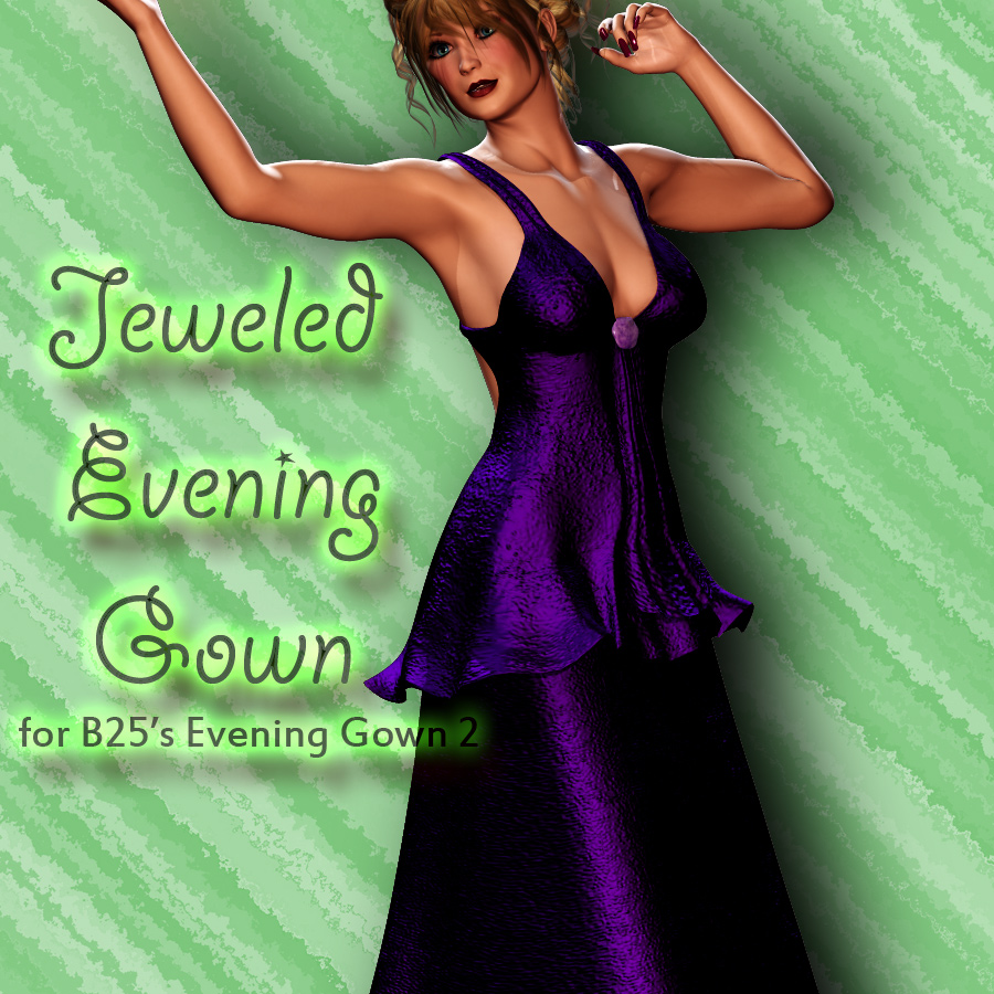 Jeweled for Bobby25's Evening Gown 2