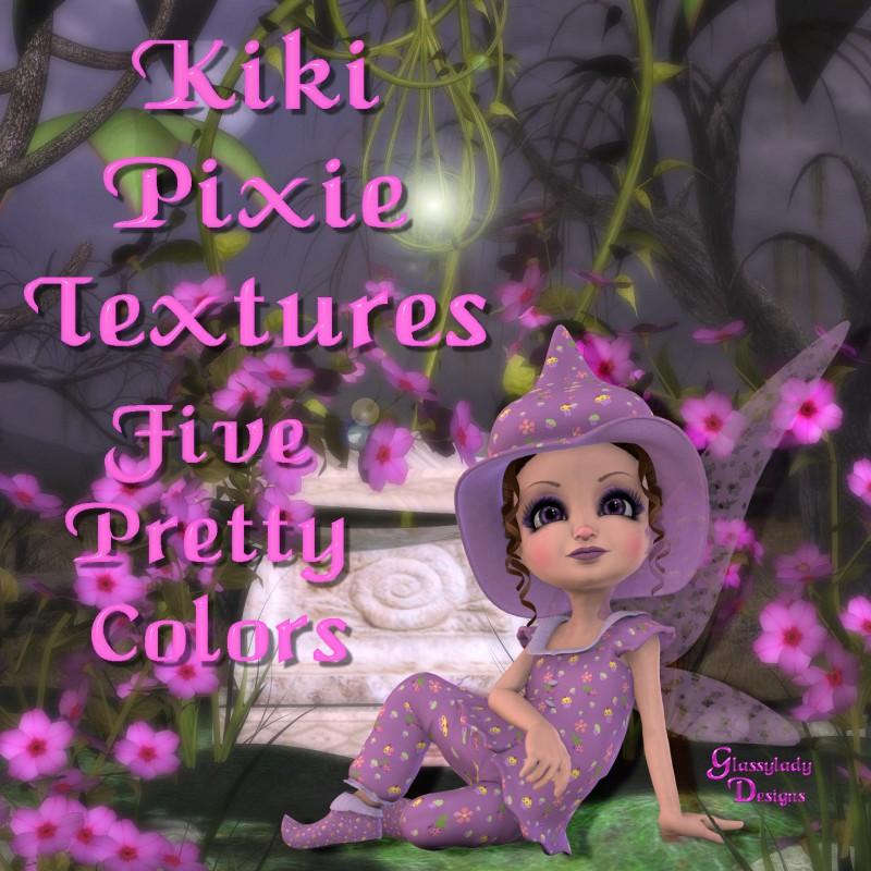 Kiki Pixie Outfit Textures