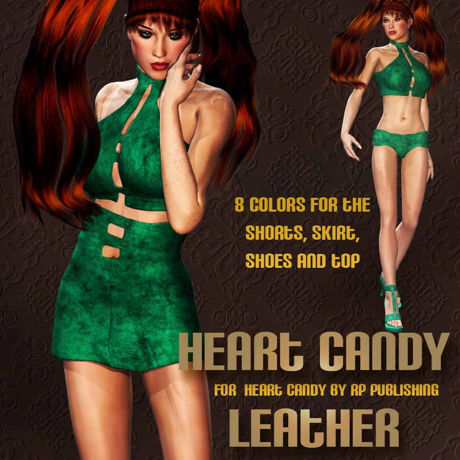 Heart Candy Leather