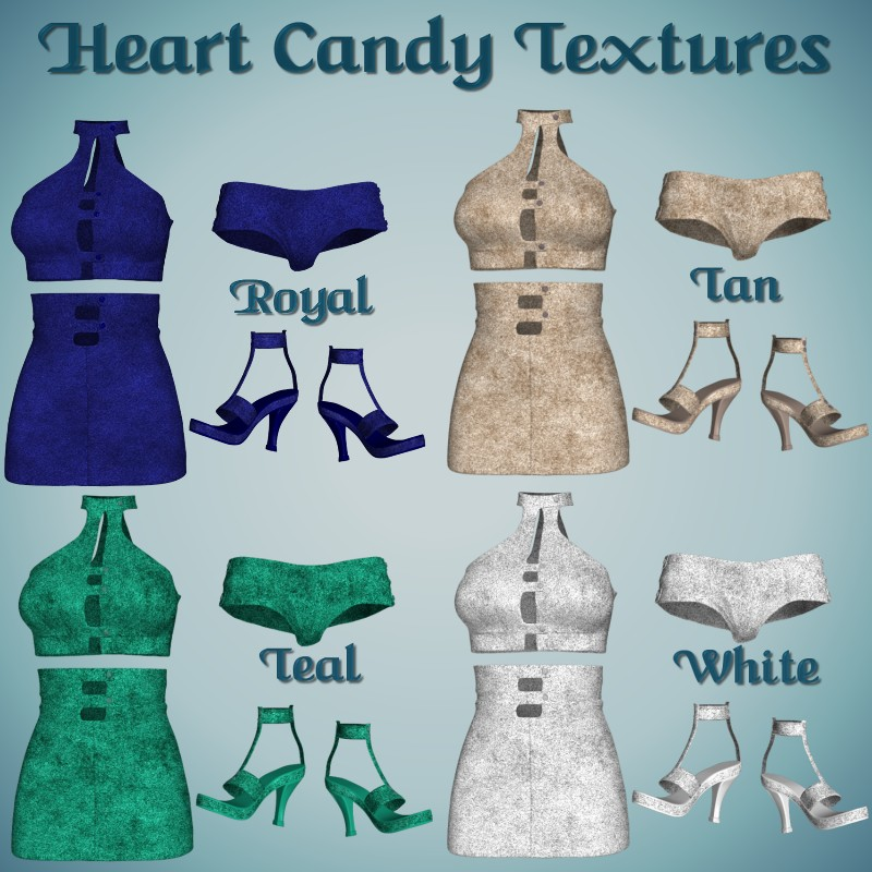 Heart Candy Leather *Exc* - Click Image to Close