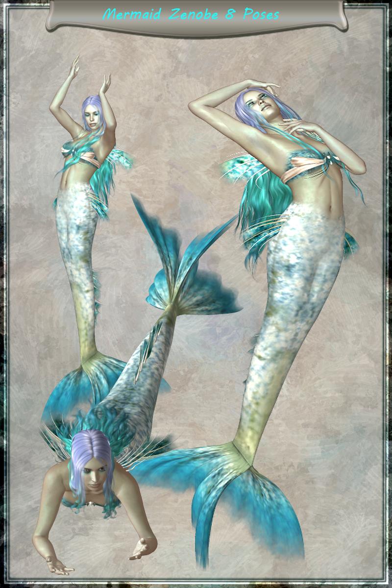 Zenobe the Mermaid