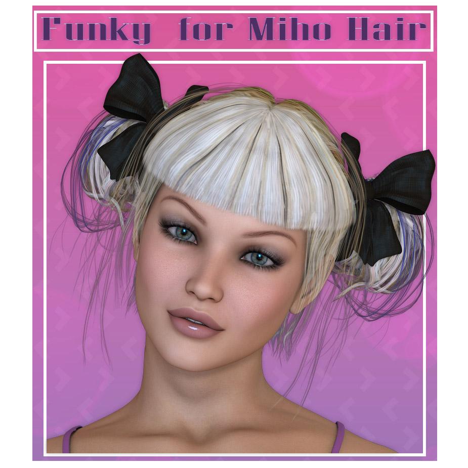Funky Miho Hair