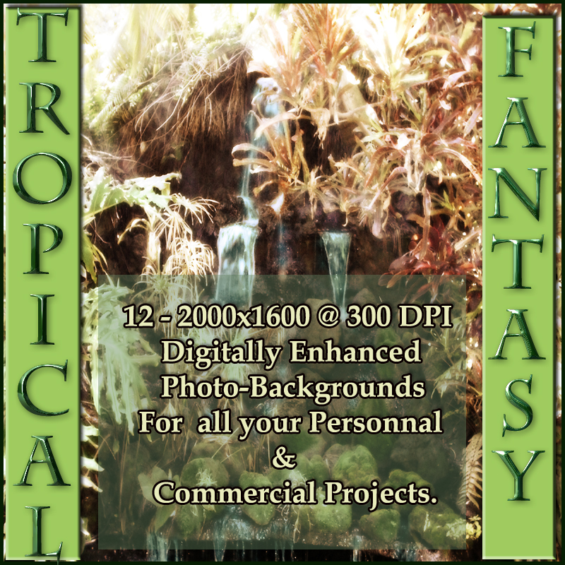 Tropical Fantasy Backgrounds