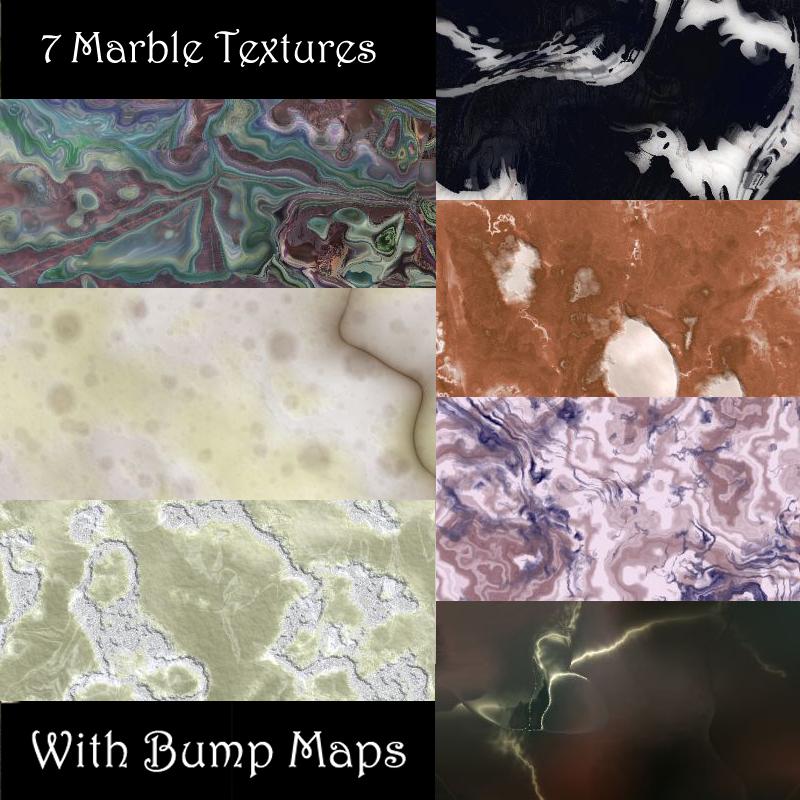 Stone & Marble Seamless Tiles