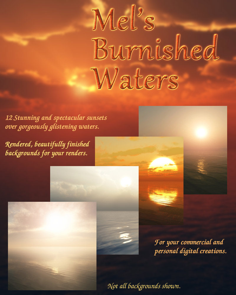 Mel's Burnished Waters