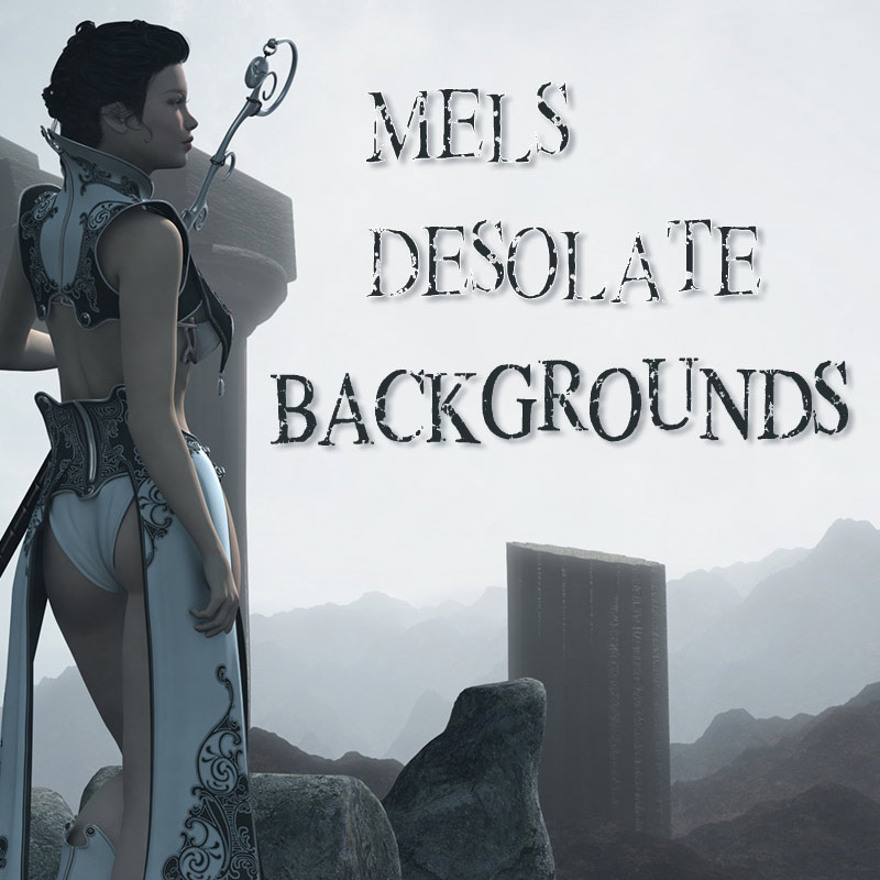 Mel's Desolate Backgrounds