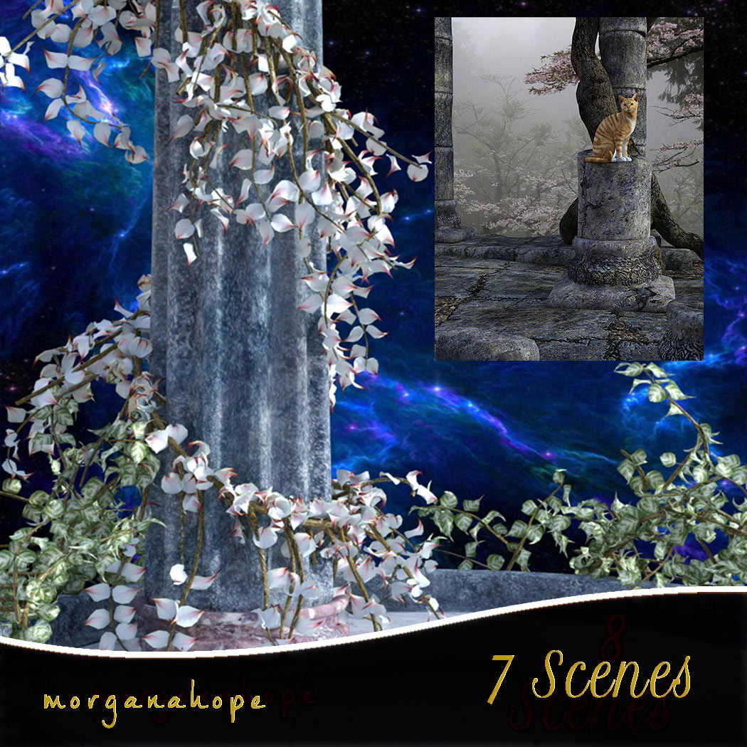 7 Scenic Backgrounds [Exclusive]