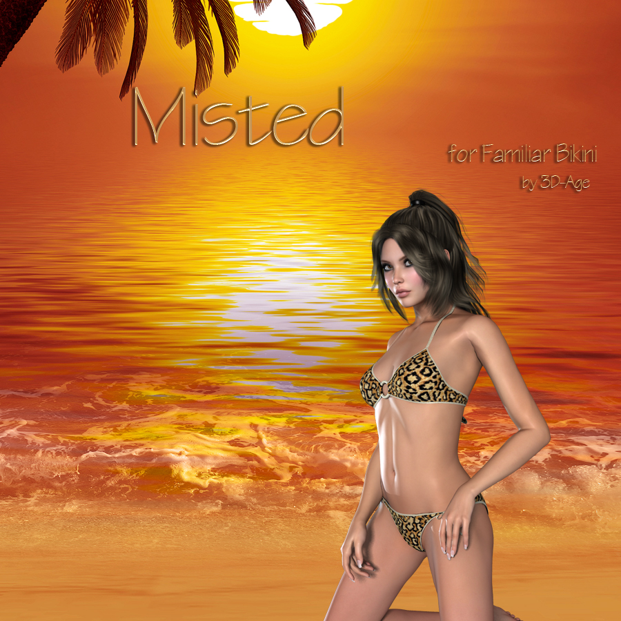 Misted Familiar Bikini *Exc.*