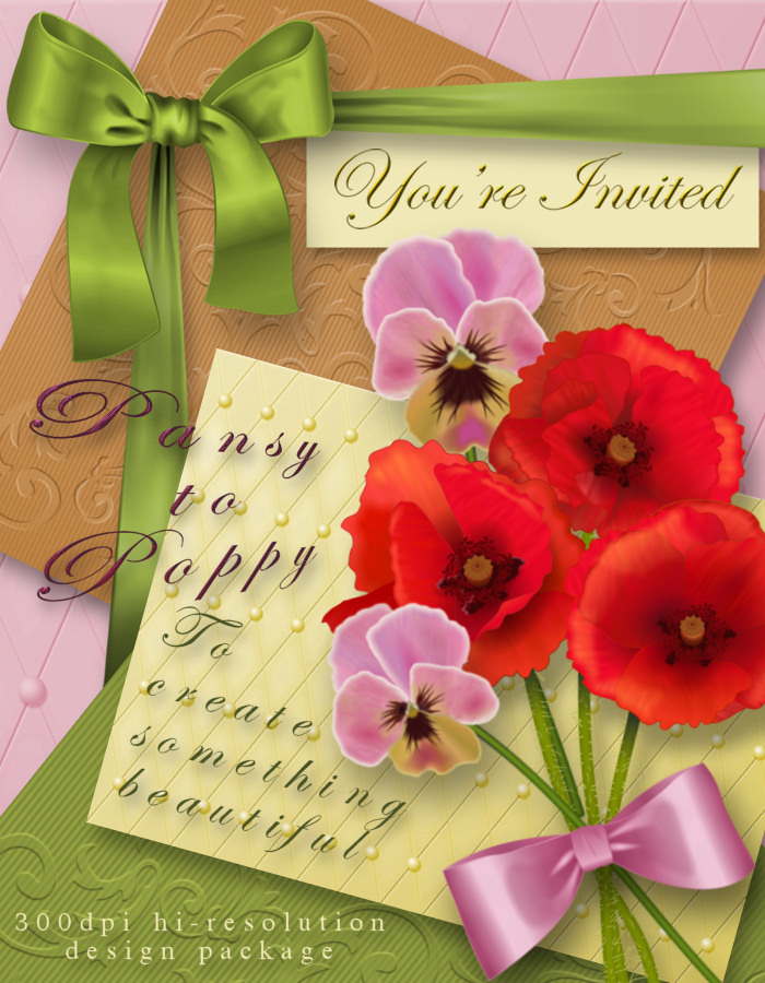 Pansy to Poppy Design Package *Exclusive*