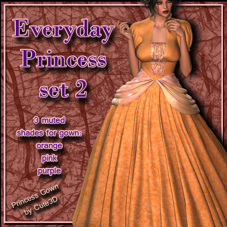 Princess Gown: Everyday 2