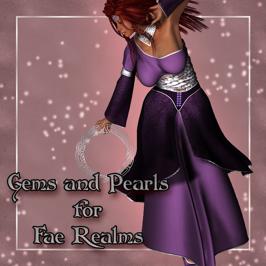 OldFashionedWoman's Gems and Pearls for Fae Realm Set (Exclusive)