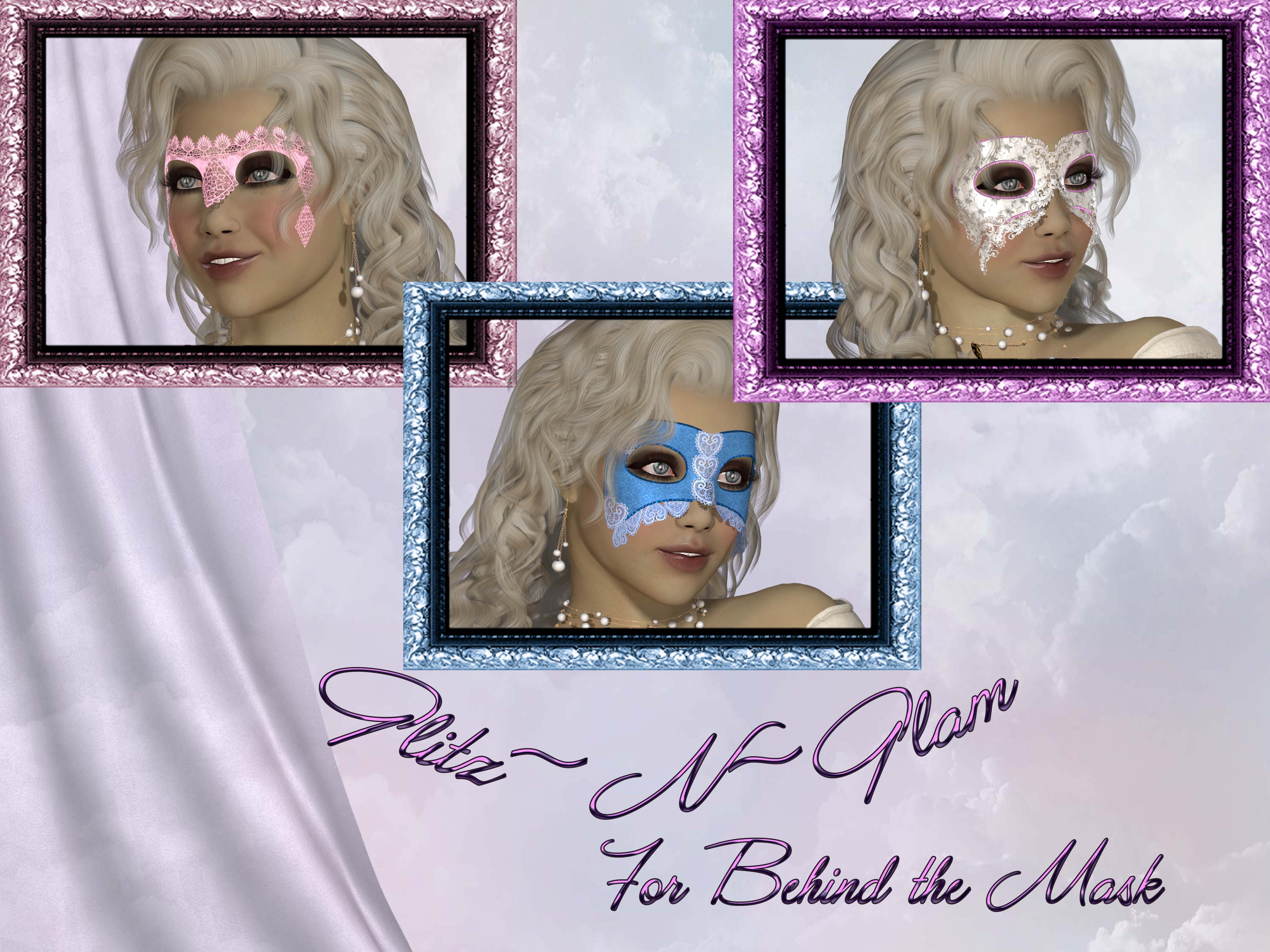 Glitz~N~Glam for Behind the Mask (Exclusive)