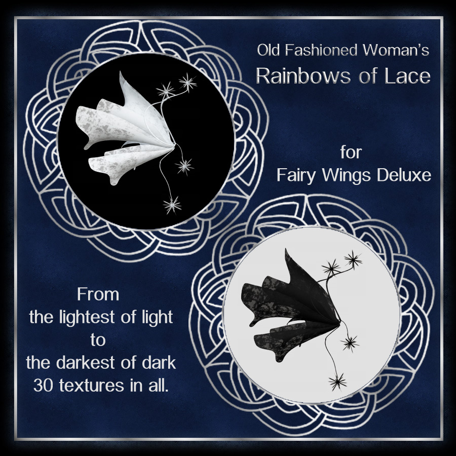 Rainbows of Lace Wings for Faery Wings Deluxe (Exclusive)