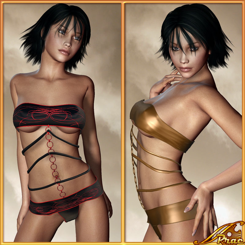 Ribbon Outfit V4/A4/Elite *Exclusive*