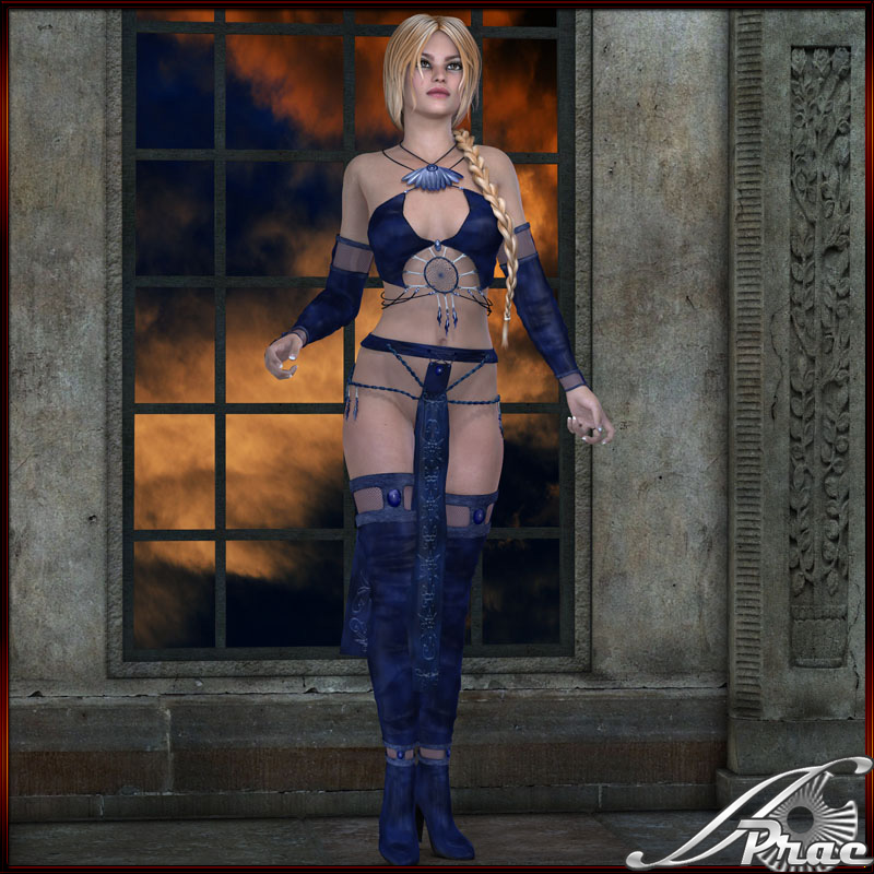 Storm Goddess Outfit for V4A4 - Click Image to Close